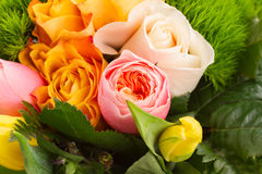 Bouquet of fresh spring  flowers Stock Photography