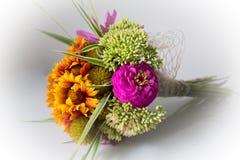 Bouquet. A fresh summer flower bouquet Stock Photo