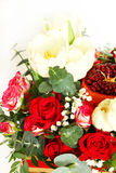 Bouquet with fruit and flowers Royalty Free Stock Image