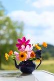Bouquet garden flowers Stock Photos