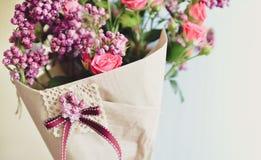 Bouquet gentil de ressort Image stock