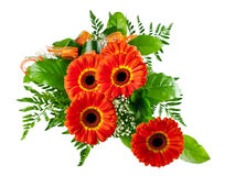 Bouquet of gerberas Royalty Free Stock Photography