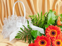 Bouquet of gerberas Royalty Free Stock Photo