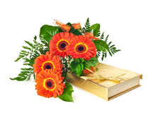Bouquet of gerberas Royalty Free Stock Photos