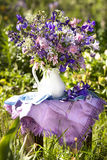 Bouquet of irises Royalty Free Stock Image