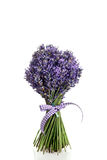 Bouquet of lavender flowers cut Stock Photo