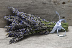 Bouquet of lavender on a shelf. Stock Photography