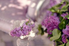 A bouquet of lilacs Stock Photography