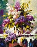 Bouquet lilas Photo libre de droits