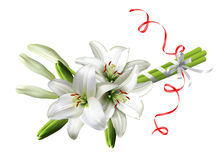 Bouquet of lilies Royalty Free Stock Photography