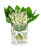 Bouquet of lilies of the valley Stock Photography