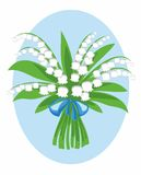 Bouquet of lily of the valley Royalty Free Stock Photo