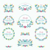 Bouquet of Lovely Flowers Design. Suitable for for weddings, Valentines day, birthdays, menu, holidays, baby shower, mothers day, valentines day, birthday Royalty Free Stock Image
