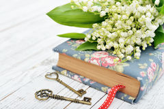 Bouquet of may-lily Stock Photos