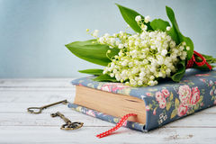 Bouquet of may-lily Stock Images