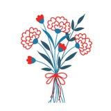 Bouquet mignon de fleur décorative Photo stock