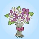 Bouquet mignon des fleurs Image libre de droits