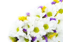 Bouquet of miscellaneous flowers Stock Images