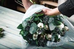 Bouquet moderne de fleur de professionnel Images stock