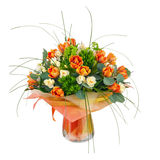 Bouquet of narcissus, tulips and other flowers. Royalty Free Stock Photos