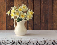Bouquet of narcissuses Royalty Free Stock Image