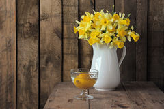 Bouquet of narcissuses Stock Image