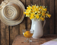 Bouquet of narcissuses Stock Images