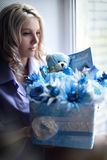 Bouquet for newborns Royalty Free Stock Image