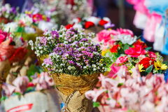 Bouquet,nosegay,bouquet with flowers. Of Thailand royalty free stock images