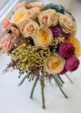 Bouquet nuptiale photo libre de droits