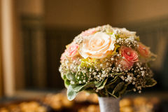 Bouquet nuptiale Images libres de droits