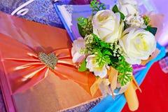Bouquet nuptiale Photos stock