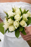 Bouquet nuptiale blanc Photographie stock