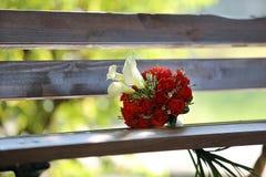 Bouquet nuptiale de mariage image libre de droits