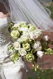 Bouquet nuptiale de mariage des fleurs photo libre de droits