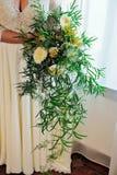 Bouquet nuptiale mariage succulents Photographie stock libre de droits