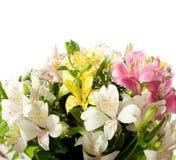 Bouquet Of Alstroemeria Royalty Free Stock Photos