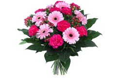 Free Bouquet Of Flowers Isolated Stock Photography - 80499302