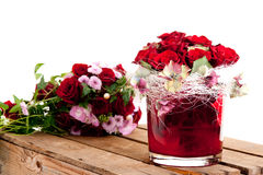 Free Bouquet Of Red Roses Stock Images - 12993604