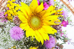 Free Bouquet Of Wild Flowers Royalty Free Stock Photos - 26081388