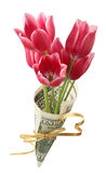 Bouquet in one hundred dollars Stock Photo