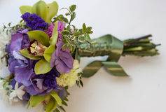 Bouquet with orchid Stock Photography