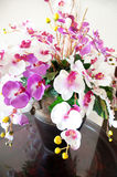 Bouquet of orchids arrangement centerpiece Royalty Free Stock Photography