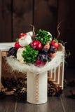 Bouquet original des légumes et des fruits Photo libre de droits