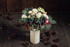 Bouquet original des légumes et des fruits Images stock