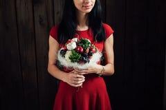 Bouquet original des légumes et des fruits Photos libres de droits