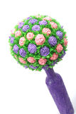 Bouquet of  paper flowers Royalty Free Stock Photography
