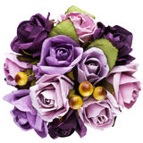 Bouquet of paper flowers Royalty Free Stock Images