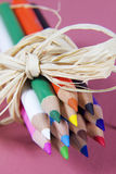 Bouquet of Pencils. Bouquet of newly sharpened pencils Stock Photography