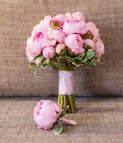 Bouquet of peonies Royalty Free Stock Images
